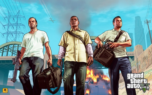Official GTAV artwork